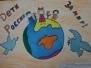 """Рисунки детей """"Дети за мир"""""""